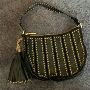 Michael Kors Purse with Gold Design